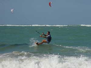 Kiteboarding in the Dominican Republic