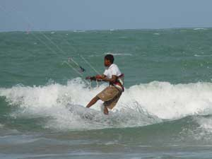 Kitesurfing in the Dominican Republic